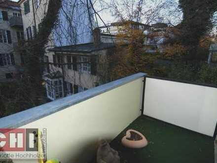 Blick ins Grüne... Bogenhausen - ruhige 2-Zi-Wohnung mit 2 großen Westbalkonen