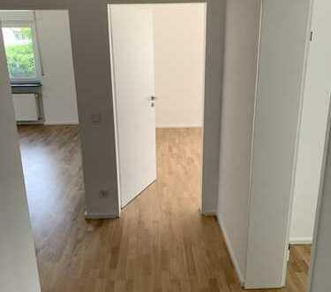 Ruhige, komplett renovierte 3-Zimmer Wohnung mit großem Balkon