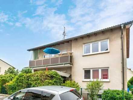Mühlheim:Schöne, lichtdurchflutete 3 Zimmer-Wohnung mit Süd-Balkon und eigenem Garten