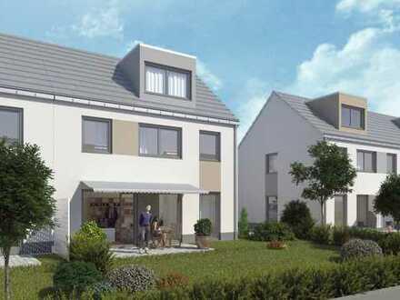 Das etwas andere, attraktive Haus als Doppelhaushälfte, 4 Zimmer + Garten, BA 2