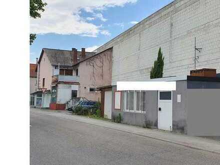 Haus mit Geschäftsräumen und 3 Zimmer Wohnung in Lampertheim, Zentrum