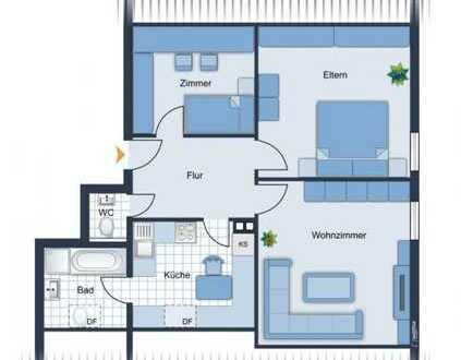 Freundliche 3-Zimmer-DG-Wohnung mit EBK in Giengen an der Brenz