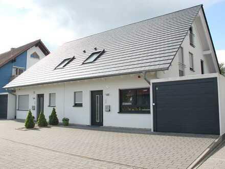 Exklusive Doppelhaushälfte in bevorzugter Ortsrandlage in Bad Schönborn - Mingolsheim