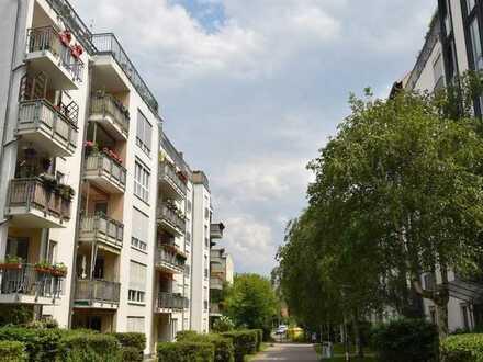 Schöne 3-Raum Wohnung mit Balkon und Tiefgaragen Stellplatz als Kapitalanlage in Leipzig