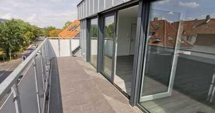 Offen gestaltete Dachgeschosswohnung im Loft-Stil im Herzen von Bielefeld