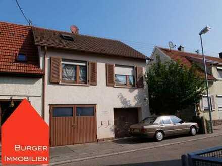 Gemütliche Doppelhaushälfte, 3,5-Zi., 2 Bäder, Terrasse, Garage, ruhige Wohnlage in Ötisheim