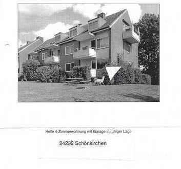 4-Zimmer-EG-Wohnung in Schönkirchen Kreis Plön