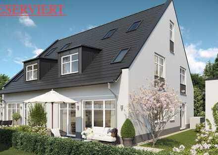 Wohnglück auf 3 Etagen! Doppelhaushälfte mit Süd-West-Terrasse und Garten -RESERVIERT-