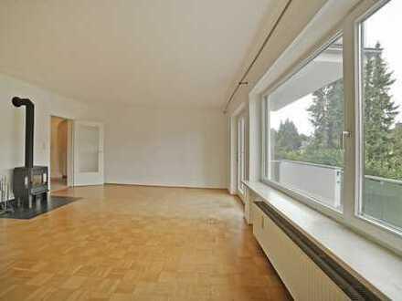 MGF-Group: Helle und sehr großzügige geschnittene 2 Zimmerwohnung mit großem Balkon. Ruhig + grün!