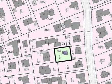 ruhige Lage: Baugrundstück für ein Ein- bzw. Zweifamilienhaus