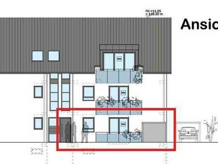Erstbezug: ansprechende 3-Zimmer-EG-Wohnung mit Balkon in Rastatt