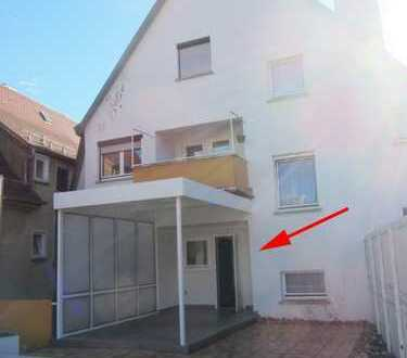 Frisch renoviert.  Große 5-Zimmer-Wohnung mit Dachterasse in der Reutlinger Innenstadt