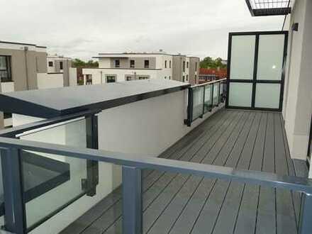 barrierefreie exklusive Penthousewohnung als Erstbezug im Neubau mit Sonnenterrasse