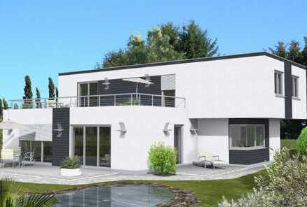 Bauen Sie mit uns Ihr frei gestaltbares Traumhaus zum Festpreis inkl. Grundstück und Wärmepumpe...