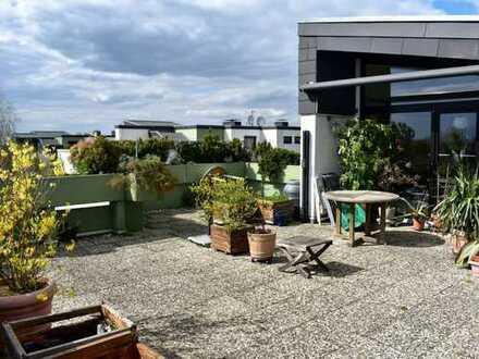 5-Zimmer-Penthouse-Wohnung mit einer ca. 60 m² großen Dachterrasse in Achim