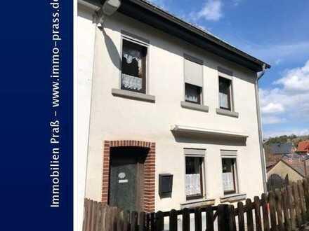 Top-Gelegenheit! Kleine Doppelhaushälfte mit Weitblick in Bockenau zu verkaufen
