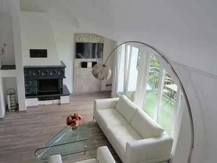 Klimatisierte, top möblierte 3-Zimmer-Maisonette-Wohnung im Zentrum von Rodenkirchen