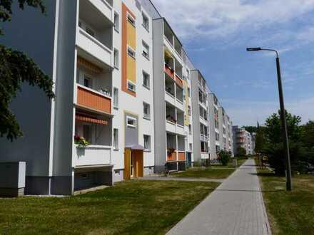 Geräumige 4-Raumwohnung mit Südbalkon in Stadtnähe