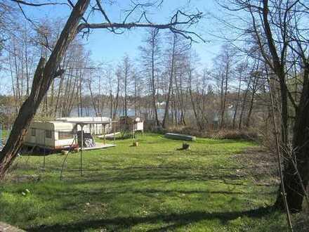 PROVISIONSFREI - Idyllisches Erholungsgrundstück am Kleinen Stienitzsee
