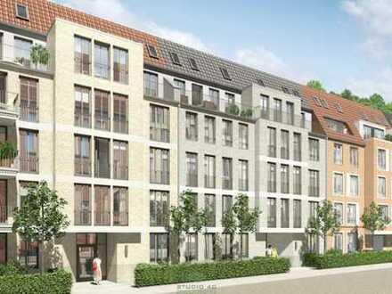 Neubau: Helle Drei-Zimmer Wohnung mit Balkon nahe der kleinen Weser