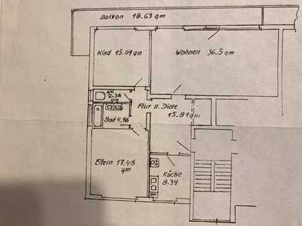 Gepflegte 3-Raum-Wohnung mit Balkon in Nürnberg-Ost