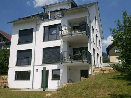 2,5-Zimmer DG-Wohnung mit Balkon, EBK, sonnig, im Grünen und in Citynähe