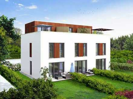 Kompaktes Stadthaus mit Garten und Dachterrasse