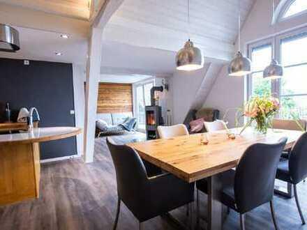 Große Maisonette Wohnung mit Bergblick!