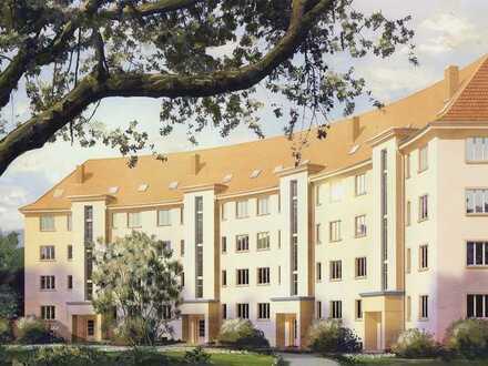NEU - Leben in den Seidnitzer Gärten - Hochwertige Denkmalschutz-Sanierung