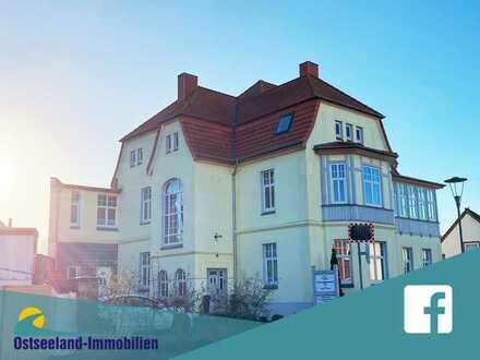 möblierte 3-Raumwohnung in der Stadtvilla Ostseeland mit Terrasse und Parkplatz