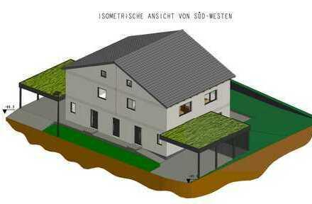 NEUBAU: Moderne Doppelhaushälfte mit 4 Zimmern und Garten in Amberg
