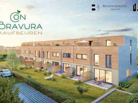 Modernes Neubaureihenhaus