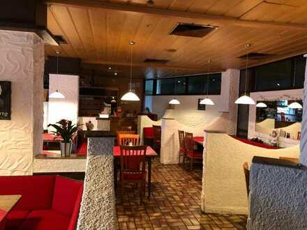 Komplette ausgestattetes Restaurant mit Bar & Billardraum im Keller in Weinstadt zu verkaufen