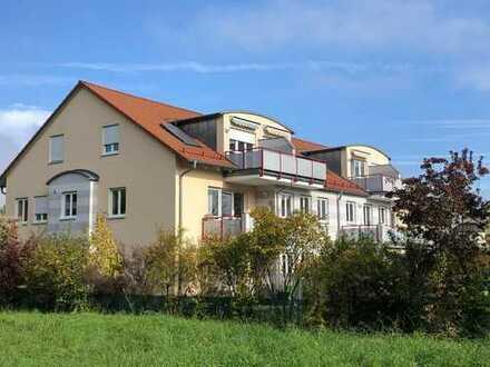 2-Zimmer-DG-Wohnung mit 2 Balkonen in Gersthofen Musikerviertel