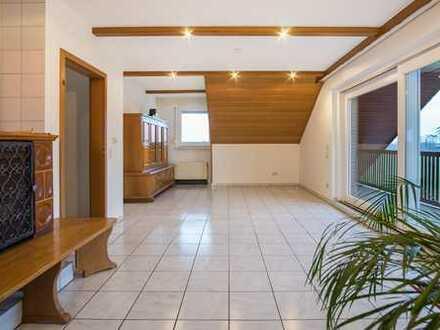 !! NEU !! Geräumige Dachgeschoss-Wohnung in Raesfeld