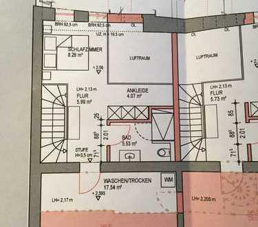 3-Zimmer-Loft-Wohnung mit Terrasse in ehemaligen Industriegebäude