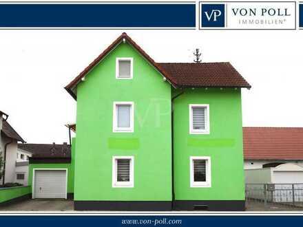 Großes Einfamilienhaus mit herrlichem Garten, Ausbaureserve und 2 Garagen, Ortsmitte IN-Ringsee.