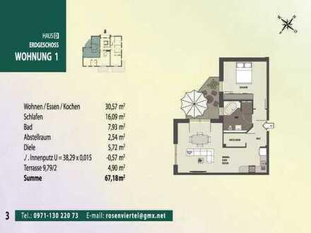 NEU! Exklusive Neubau-Eigentumswohnungen im Rosenviertel
