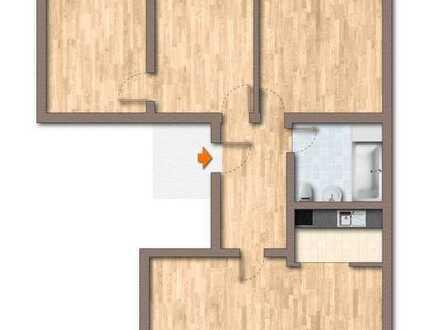 Frisch RENOVIERTE 4 Zimmer Wohnung in Fürstenwalde // nahe Zentrum