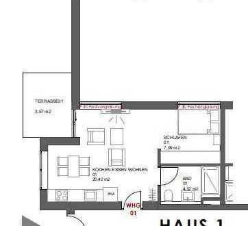 Schöne Apartmentwohnung in Innenstadtnähe Schrobenhausen - Jetzt reservieren!