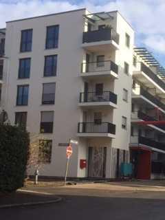 Erstbezug: exkl., lichtdurchflutetes 2 Zimmer Apartment mit Balkon, EBK und TG