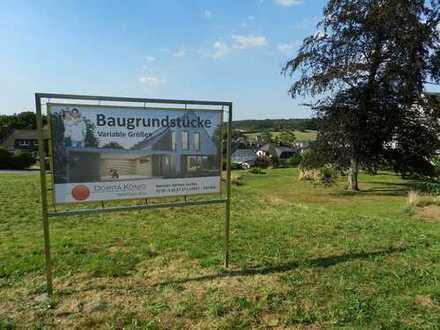 Exklusive baureife Grundstücke mit Weitsicht !