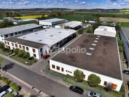 TOP-Objekt für Eigennutzer   direkt an der A45   2.500 m² Halle   550 m² Büro   ZU VERKAUFEN