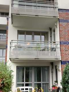 3-Zimmer-Wohnung direkt am Deich mit 2 Balkonen und TG-Stellplatz
