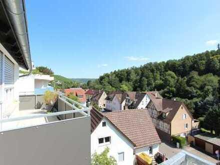 Schöne, sanierte 3 Zi-Wohnung + sep. Zi. u. Einzelgarage in S-Rohracker
