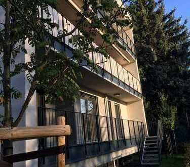 Exklusive, neuwertige 4-Zimmer-Terrassenwohnung mit Balkon und EBK in Frankfurt am Main