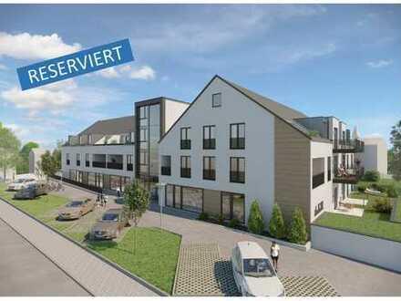 RESERVIERT - Charmante 2-Zimmer-Wohnung im Dachgeschoss mit großem Balkon