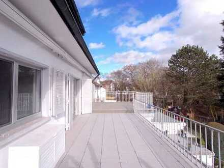 Tolle 3 Zimmer-Wohnung mit XXL-Terrasse + 1 Zimmer im DG