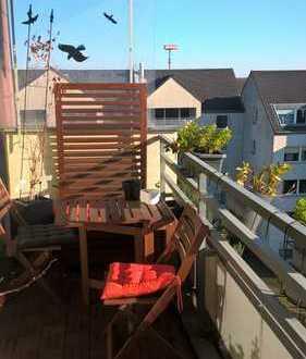 schöne 3 Raum Wohnung über den Dächern Düsseldorfs
