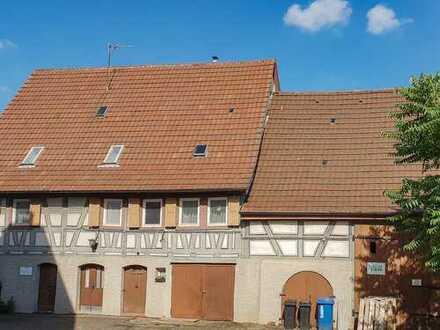 //Haus Weidenmann //Rohdiamant //Sanierungsobjekt //Wohnhaus //Scheune //Denkmalschutz //BJ 1793